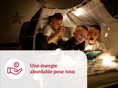 Une énergie abordable pour tous