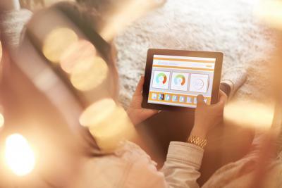 compteur intelligent - slimme meter  - smart meter - app for dito