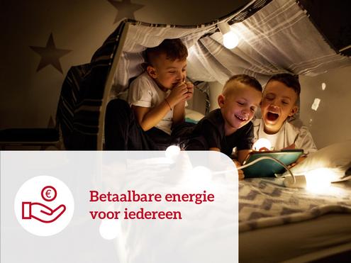 Betaalbare energie voor iedereen